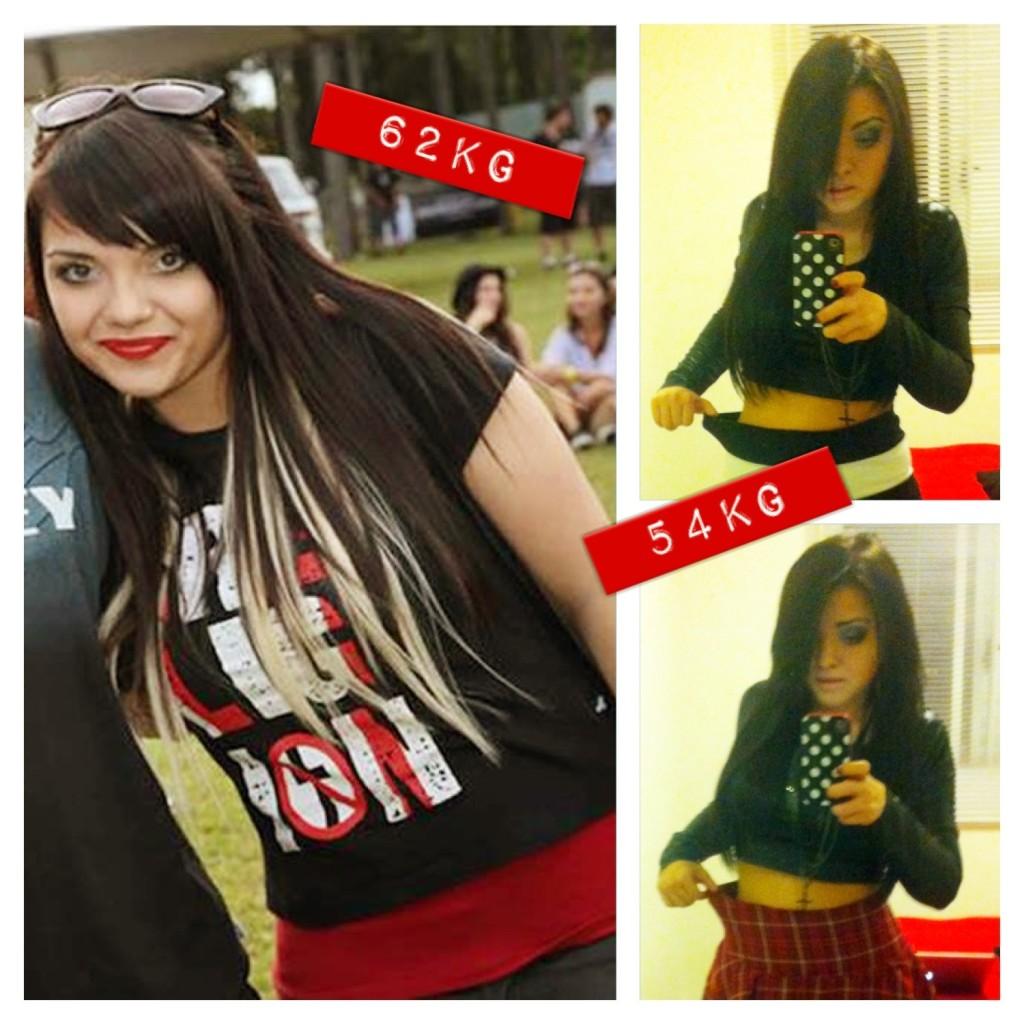 Carol - Antes e Depois -10kg