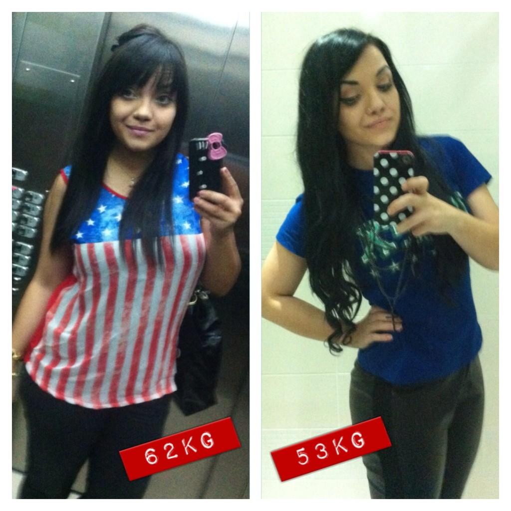 Carol - Antes e Depois -9kg